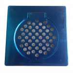 """STAINLESS STEEL FLOOR TRAP GRATING 6"""" X 6"""""""