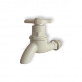 "image of WIRAPLAS 1/2"" 15mm Plastic Water Bib Tap"