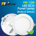FF Lighting LED Eco Panel Lamp (Build In Driver)