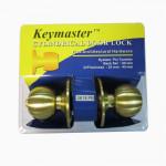 KEYMASTER CYLINDRICAL DOOR LOCK #3618PB
