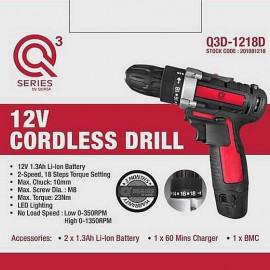 image of QUASA Q3D-1218D 12V Cordless Drill