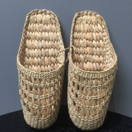 image of Rattan Handmade Shoes (Cover toes)