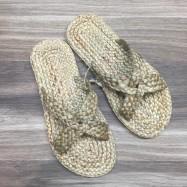 image of Rattan Handmade Shoes (Flip Flops)