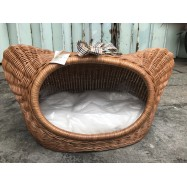 image of Rattan Kitty Shape Pet House