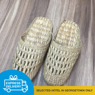 image of 【Express Delivery】Rattan Handmade Shoes (Cover toes)