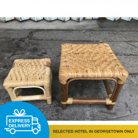 image of 【Express Delivery】Bamboo Chairs ( 2 sizes)