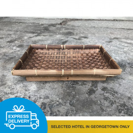 image of 【Express Delivery】Rectangle Bamboo Container