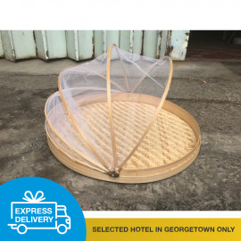 image of 【Express Delivery】Rattan Food Container with Net