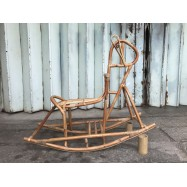 image of Wooden Horse Chair for Child