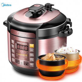 image of MIDEA MY-YL50SIMPLE101 PRESSURE COOKER(5L)