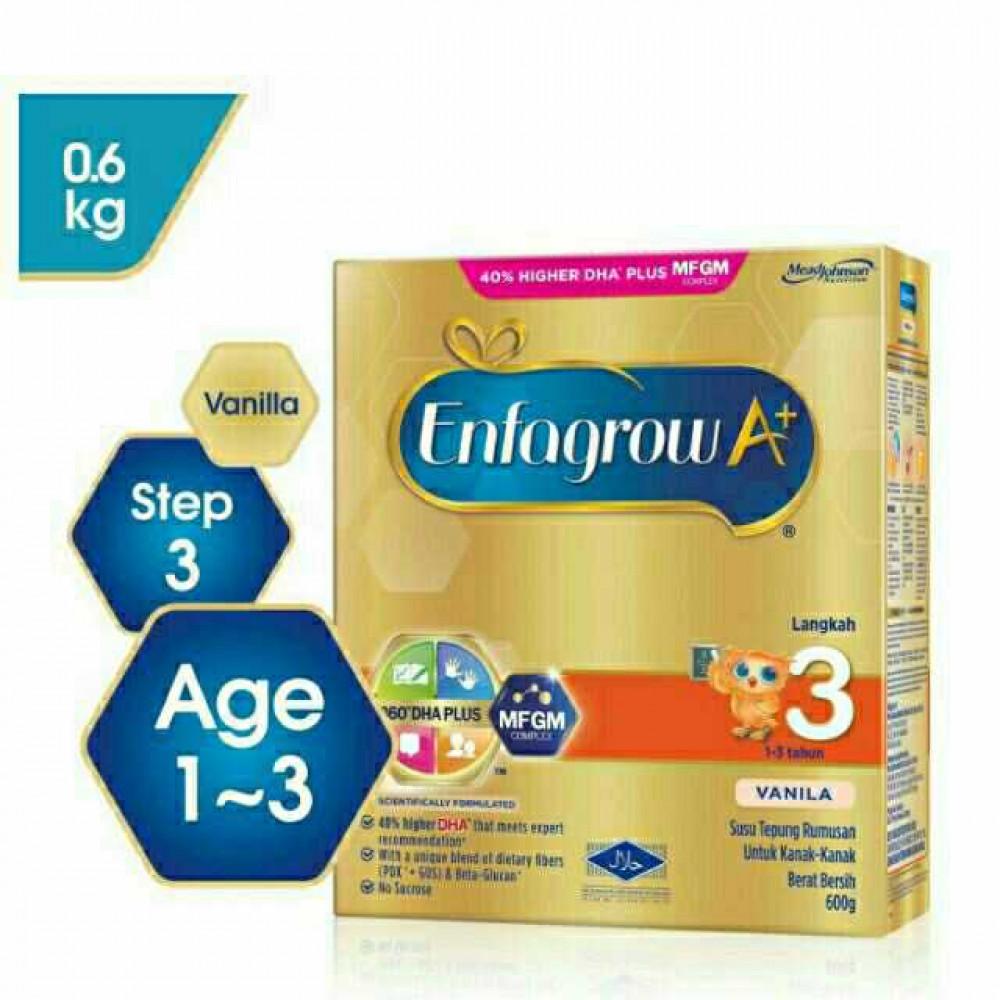 (READY STOCK) Enfagrow A+ Step 3 600g vanilla