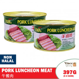 image of YiGe Pork Luncheon Meat 依格牌午餐肉 397G X 2 CANS