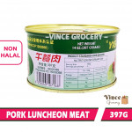 YiGe Pork Luncheon Meat 依格牌午餐肉 397G X 2 CANS
