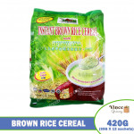 NATURE'S OWN Instant Brown Rice Cereal With Spirulina 420G
