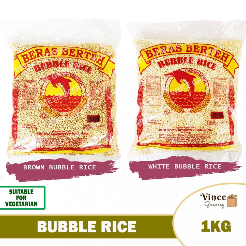 DOLPHIN Brand Bubble Rice (Bertih Beras) 1KG