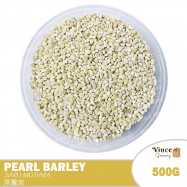 image of Pearl Barley | Barli Mutiara | 洋薏米 500G