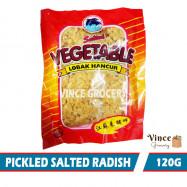 image of Pickled Salted Radish (Lobak Hancur Masin) 120G