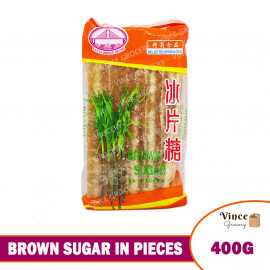 image of Brown Sugar In Pieces 冰片糖 400G