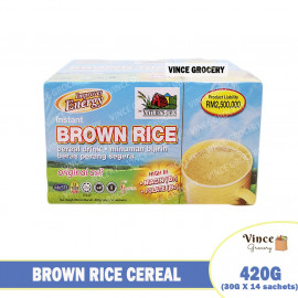 image of NATURE'S OWN Instant Brown Rice Cereal Drink 420G