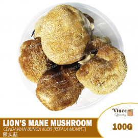 image of Lion's Mane Mushroom 猴头菇 100G