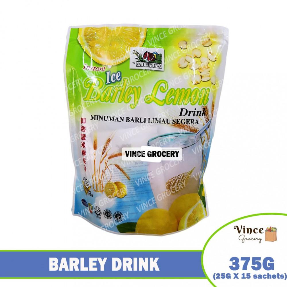 NATURE'S OWN Instant Ice Barley Lemon Drink 375G