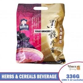 image of QUAKER Herbs & Cereals Beverage (Black Beans, Black Sesame & Black Rice) 336G
