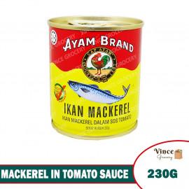 image of AYAM BRAND Mackerel In Tomato Sauce 230G