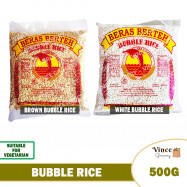image of DOLPHIN Brand Bubble Rice (Bertih Beras) 炒米 500G