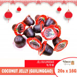 ABC Brand Coconut Jelly (Guilinggao) 龟苓膏 16.5G X 20'S
