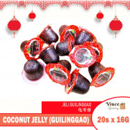 image of ABC Brand Coconut Jelly (Guilinggao) 龟苓膏 16.5G X 20'S