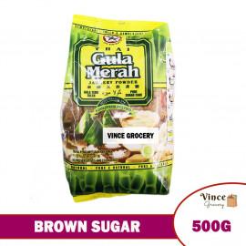 image of CAP BINTANG Thai Brown Sugar (Jaggery Powder) | Thai Gula Merah | 泰国天然黄糖 500G