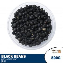 image of Black Beans | Kacang Hitam | 青仁黑豆 500G