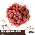 Red Dates (Jujube) M | Kurma Merah M | 若羌红枣 (中) 500G