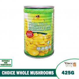 image of SUNCITY Choice Whole Mushrooms 425G