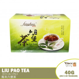 image of FENGHUA Liu Pao Tea | 蜂花牌陈年六堡茶 2G X 20 Bags
