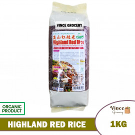 image of GREEN BIO TECH Highland Red Rice 高山红糙米 1KG