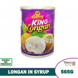 image of SUNCITY King Longan In Syrup (L) 565G