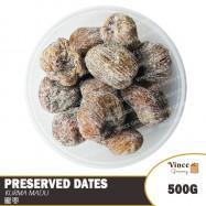 image of Preserved Dates | Kurma Madu | 金丝蜜枣 500G