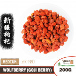 Goji Berry (Wolfberry) [Medium] | Buah Beri Goji | 新疆枸杞子 (中) 200G