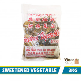 image of Sweetened Vegetables 甜梅菜芯 3KG