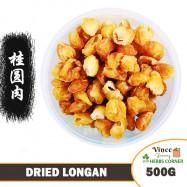 image of Dried Longan 桂圆肉 (龙眼干) 500G