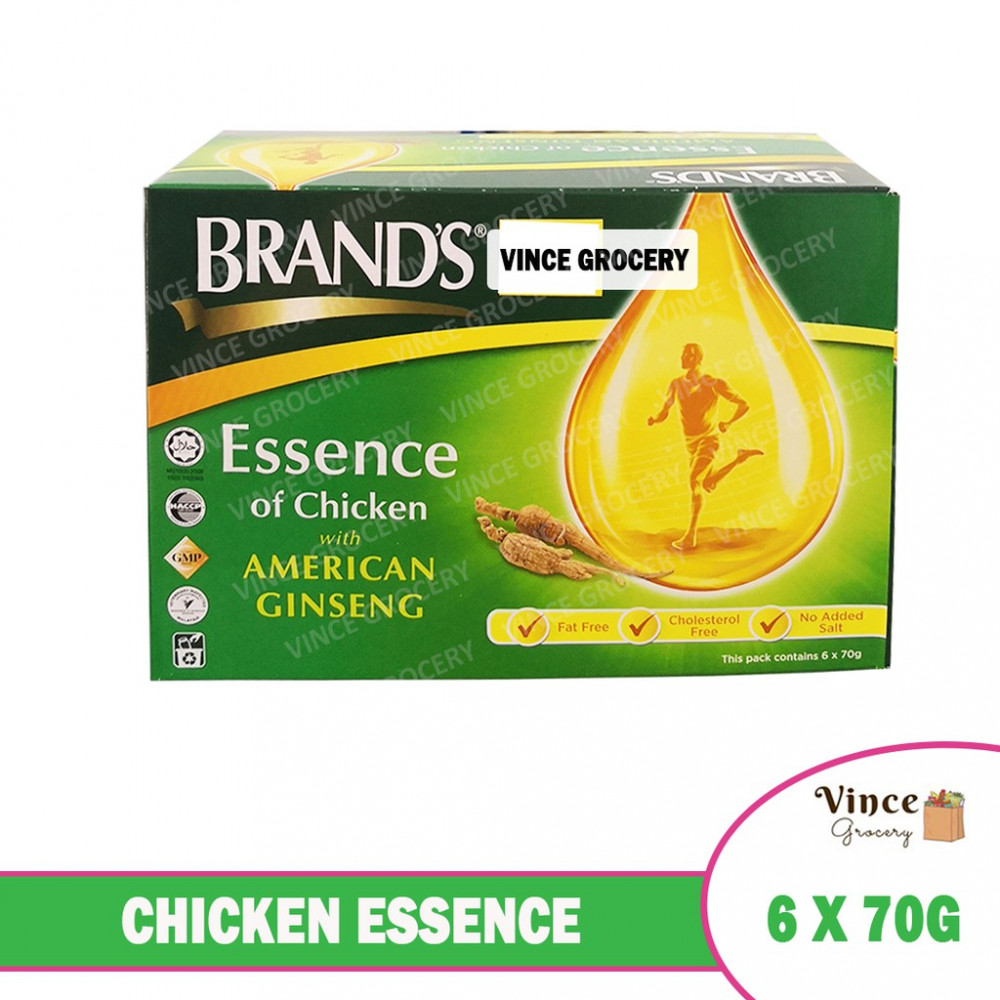 BRAND'S Chicken Essence With American Ginseng 6 X 70G