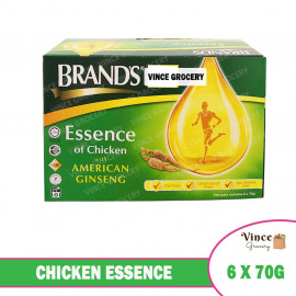image of BRAND'S Chicken Essence With American Ginseng 6 X 70G