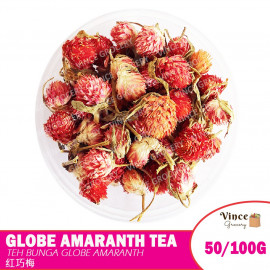 image of Globe Amaranth Flower Tea 红巧梅花茶 50/100G