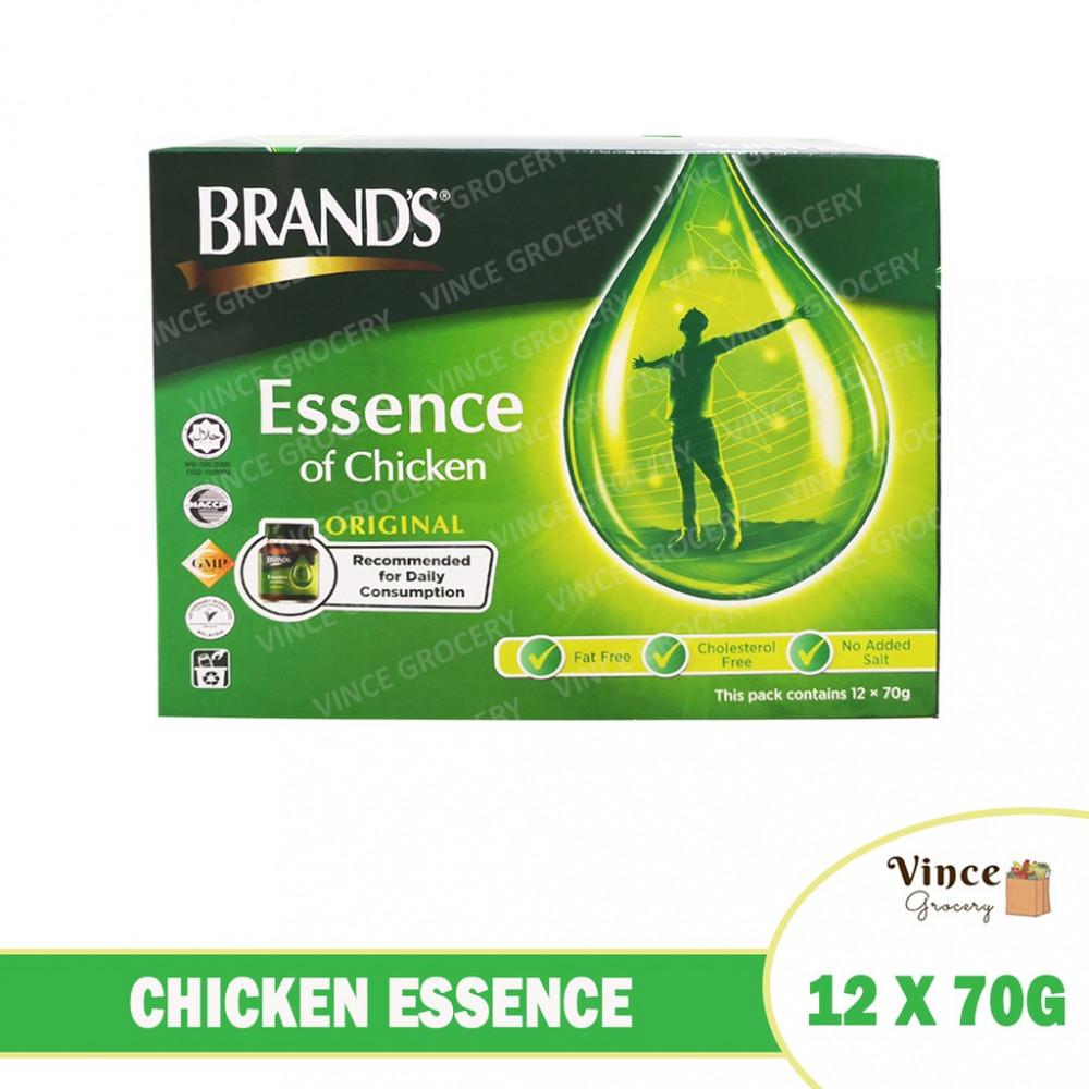BRAND'S Chicken Essence Original 12 X 70G