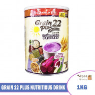 image of SUNFIELD'S Grain 22 Plus Nutritious Drink | 紫薯纳豆燕麦粉 22 谷粮 1KG