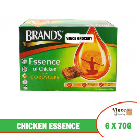 image of BRAND'S Chicken Essence With Cordyceps 6 X 70G
