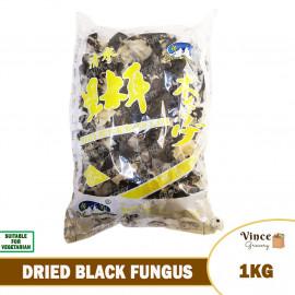 image of Dried Black Fungus 1KG