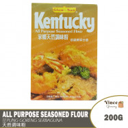 image of GLOW-SAN Kentucky All Purpose Seasoned Flour | Tepung Perasa Serbaguna 200G