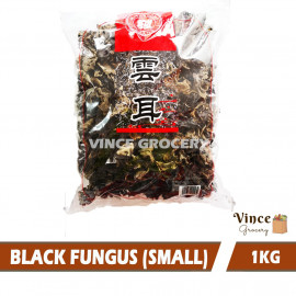 image of M-SHROOMS Small Dried Black Fungus 云耳 1KG